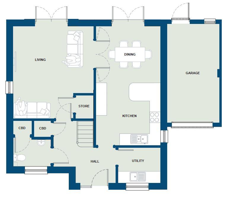 Ground Floor - The Luxon